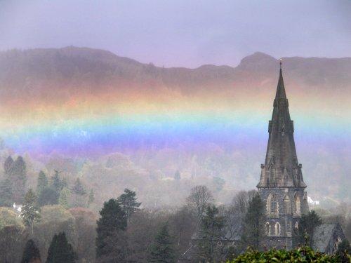 Rainbow over Ambleside