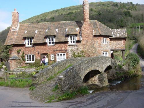 The Packhorse Bridge, Allerford, Exmoor