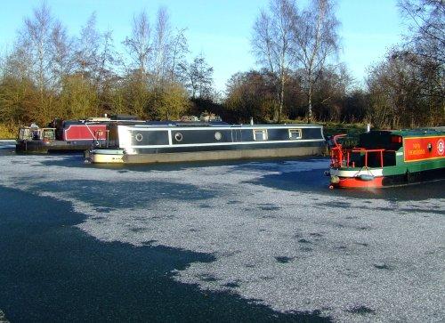 Pocklington Canal narrowboats