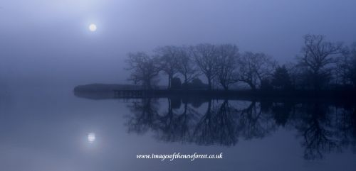 Beaulieu River in the Mist