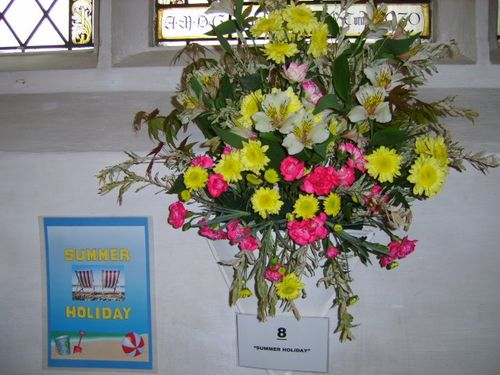 Flower Show at Newmarket St Mary's 2007