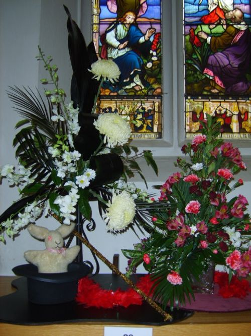Flower Show at St Mary's Church 2007