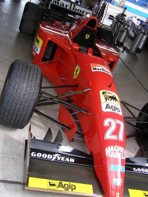 Ferrari at Donington.