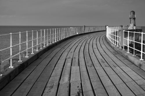 North Pier, Whitby.
