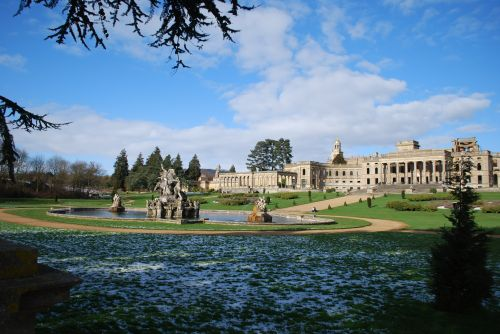 Witley Court in winter