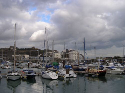 Dover Harbour.