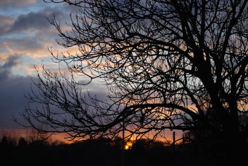 Sunset at Wolverley