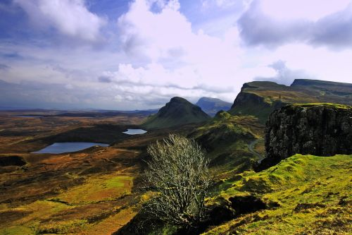 The Quarrang Landscape, Isle of Skye.