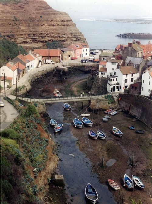 Staithes classic view