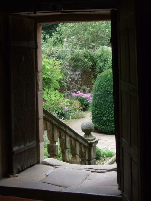 Door to the garden, Haddon Hall