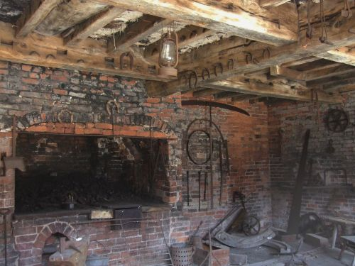 Farrier's workshop, Calke Abbey