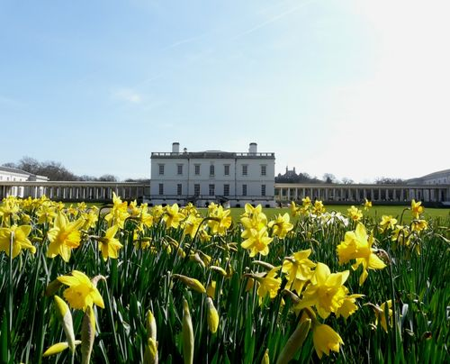 The Queen's House in Spring