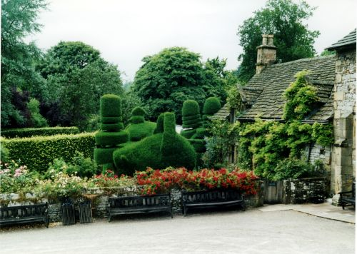 A picture of Haddon Hall