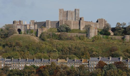 Dover Castle from the East