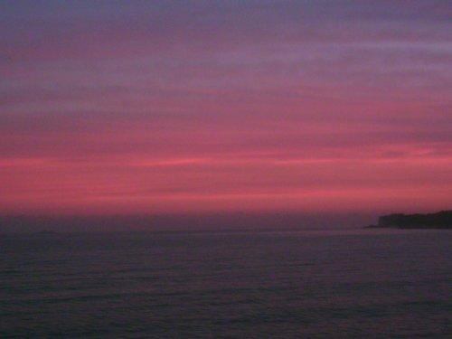 Deal sunset