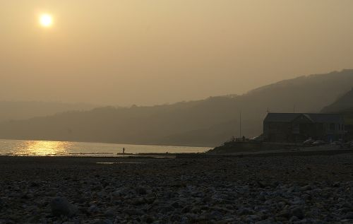 Charmouth coastline