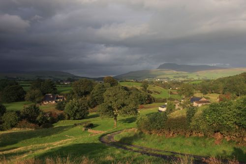 Stormy evening over the Dales
