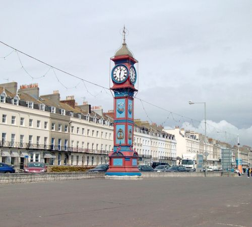 On Weymouth Promenade.