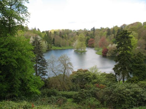 The lake at Stourhead