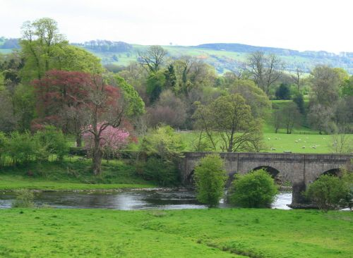 River Ribble and Mitton Bridge
