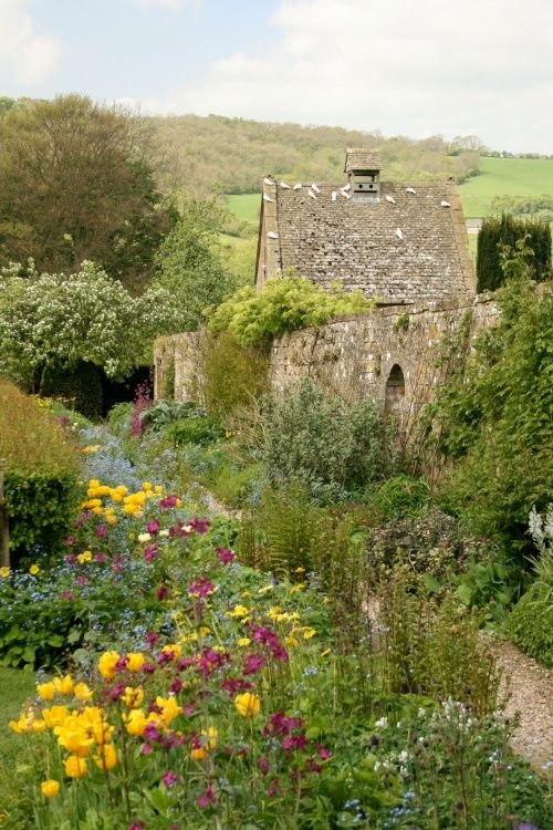 In an English Country Garden.