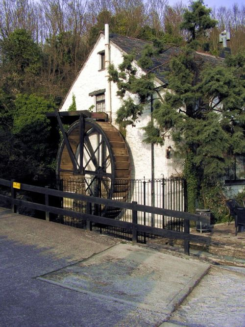 Old mill, now a pub.