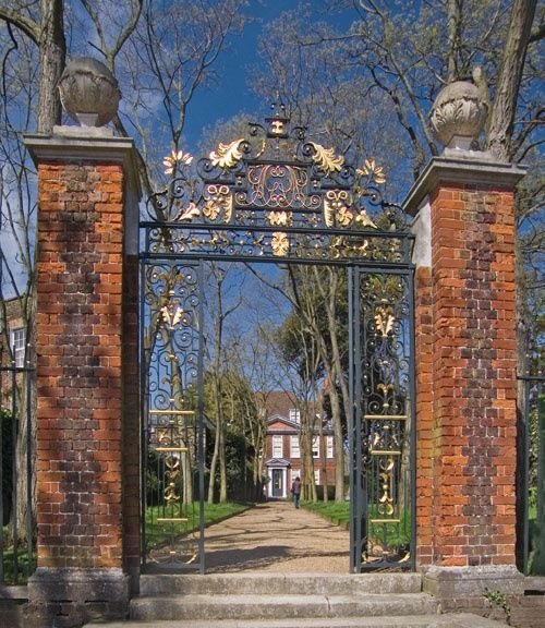 Gateway at Fenton House, Hampstead