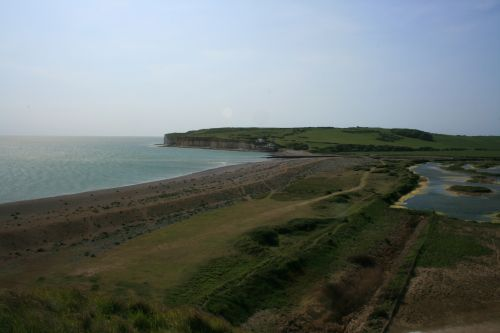 Cuckmere Haven from the top of Haven Brow