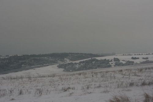 Snow on Devil's Dyke