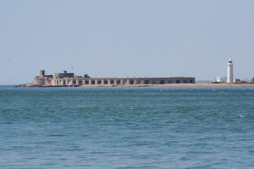 Hurst Castle on the Isle of White