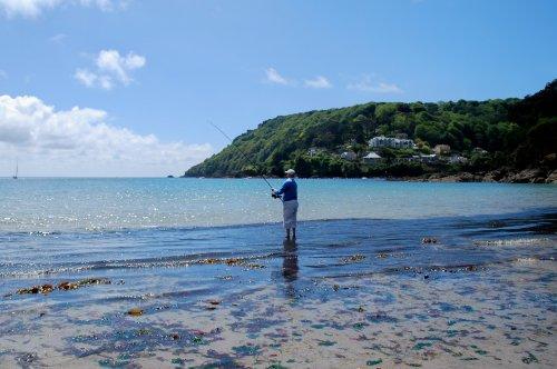 Fisherman on North Sands