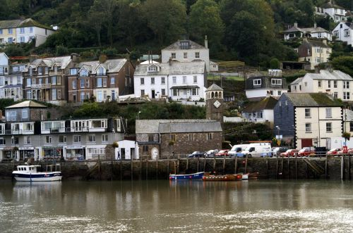 West Looe on a cloudy day.