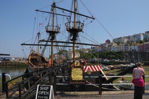Golden Hind - Brixham Harbour ~ June 2009