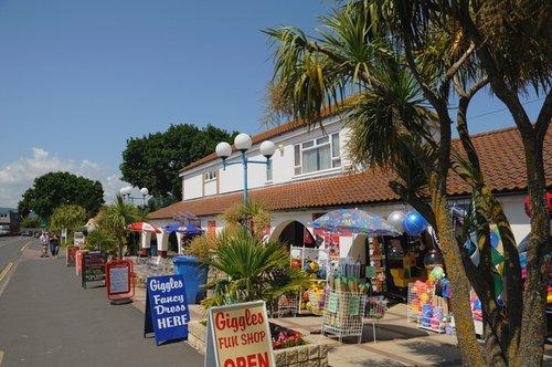 Holiday shop at Dawlish Warren - June 2009