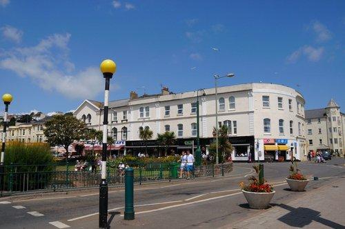 Dawlish town centre - June 2009