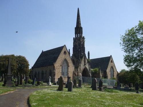 The Church in Elswick Cemetery