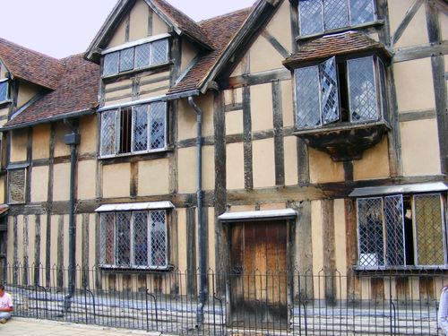 The Birthplace of William Shakespeare
