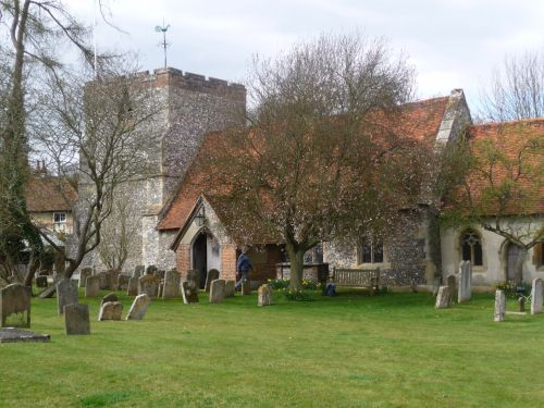 The Church of St Mary's at Turville