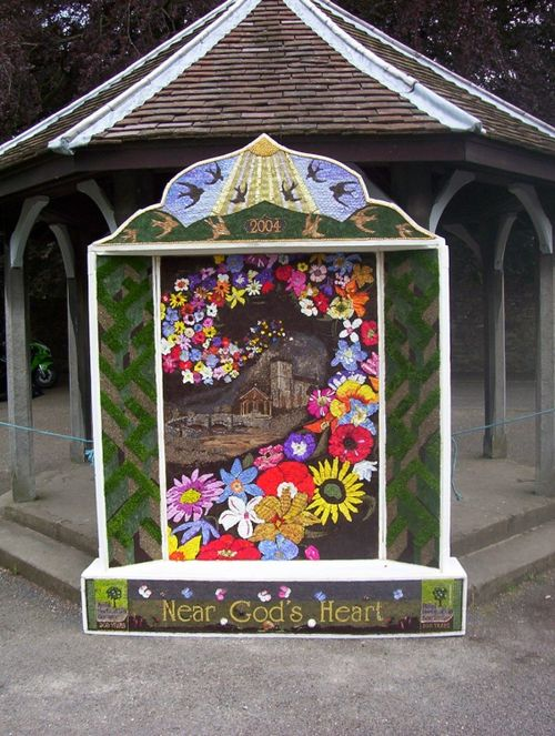 Well Dressing at Ashford in the Water