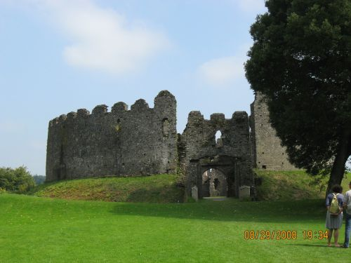 A first gilimpse of Restormel Castle