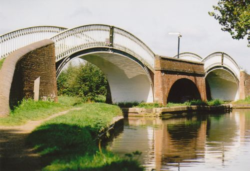 Two bridges over canal