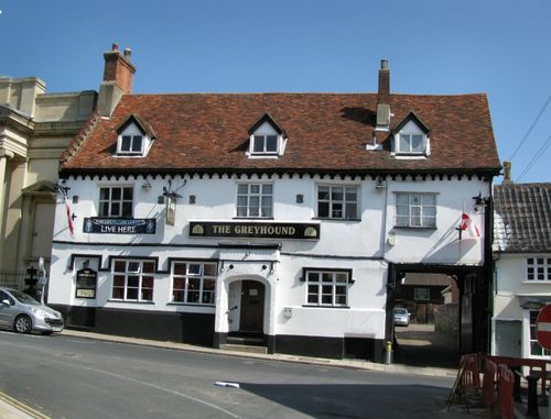 The Greyhound Pub in Diss