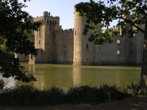 Bodiam from the South East