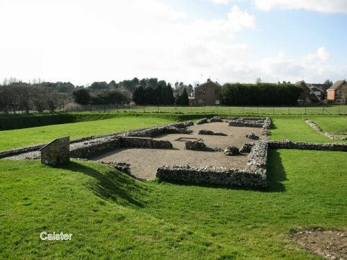 Caister - The remains of the old Roman Camp