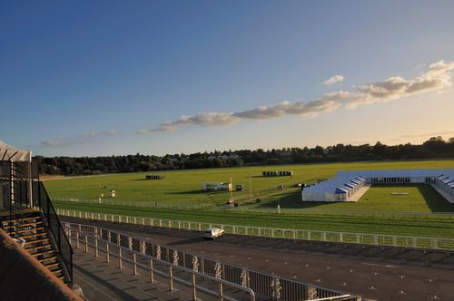 Chester Racecourse - Sunset Sept 2009