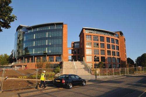 New office under construction - Chester September 2009