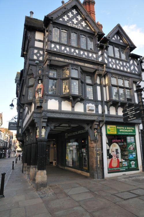 Upper Bridge Street Chester - August 2009