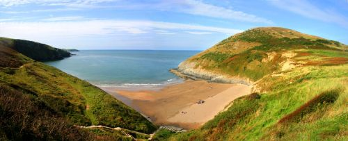 Mwnt beach near Cardigan