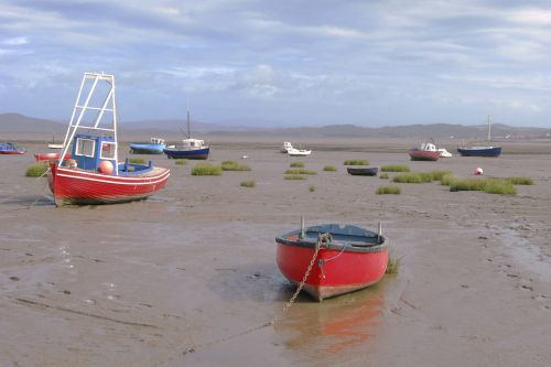Morcambe fishing boats.