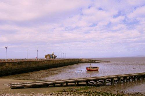 Morecambe Jetty Pier.